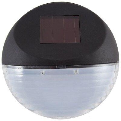 Садовый настенный фонарь 11 см P-01 на солнечных батарейках 2 лампочки