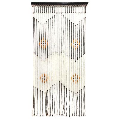 Занавес на дверь из бамбука 90х180 см с рисунком