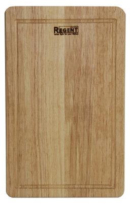 Доска разделочная прямоугольная деревянная 40х25 см Regent 93-BO-2-04.1