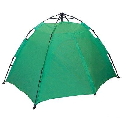 Палатка автоматическая однослойная 2 местная Saimaa Lite ECOS (130+35)х210х120 см