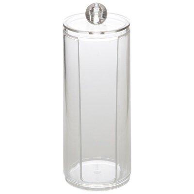 Органайзер для хранения ватных дисков Хит 20x7.5 см пластиковый
