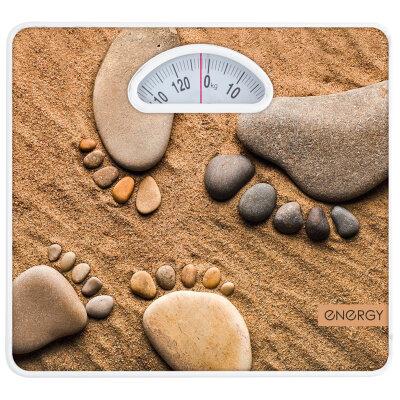 """Весы """"Ступня на песке"""" ENМ-408D напольные механика до 120 кг точность 1 кг"""