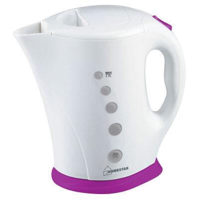 Чайник электрический пластиковый 1.7 л HomeStar HS-1005-WV 2200 Вт
