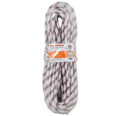 Шнур плетеный с сердечником 8 мм 20 метров высокопрочный цветной