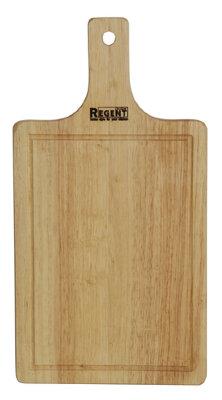 Доска разделочная деревянная с ручкой 33х17 см Regent 93-BO-1-02