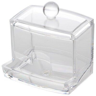 Органайзер для ватных палочек Топ 9.6x9x8 см пластиковый