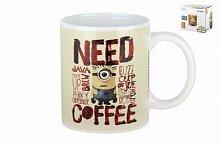 """Кружка керамическая 340мл """"Need coffee"""" DM-2CB"""