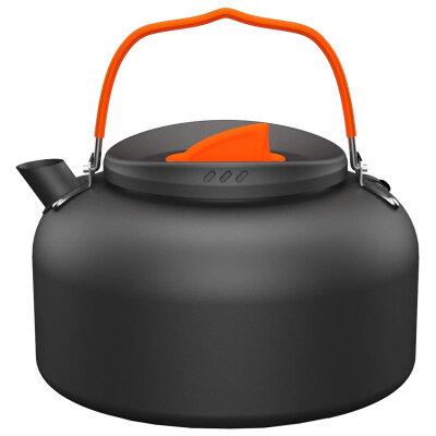 Чайник для костра 1.4 л ECOS K6003-11 алюминиевый легкий, Черный
