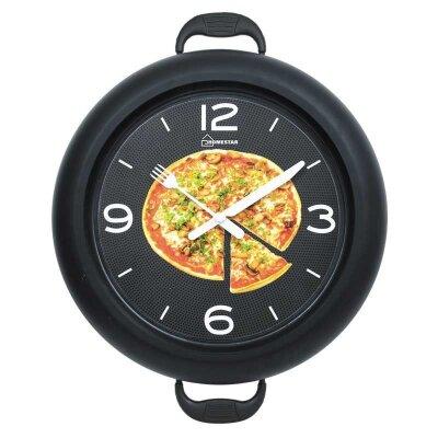 Часы настенные кварцевые HOMESTAR HС-09 плавный ход 30.2x37.5x4.6 см