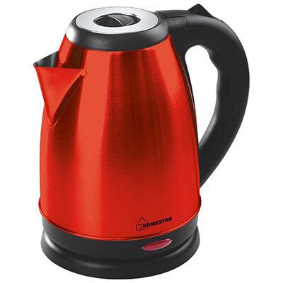 Homestar HS-1020 Чайник электрический стальной 1.8 л Красный