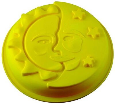 Форма круглая для выпечки кекса «День и Ночь» силикон Regent 93-SI-FO-56 29х6.5 см