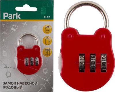 Замок навесной кодовый PARK CLC2 3 цифры