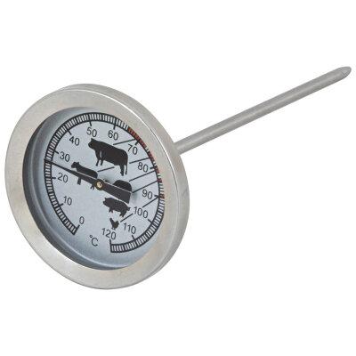 Термометр Mallony кулинарный для запекания мяса со щупом иглой 14 см