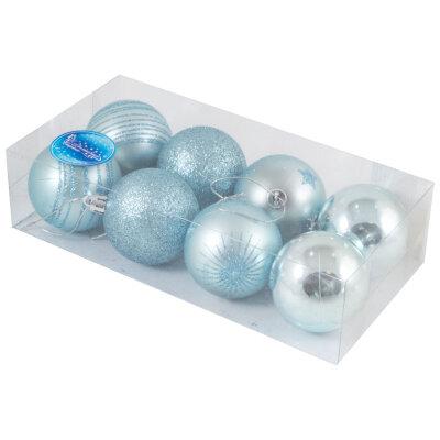 Набор из 8 елочных шаров 6 см SYCB17-539