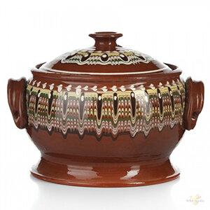Tradition 001/С0300 Супница керамическая с крышкой и ручками