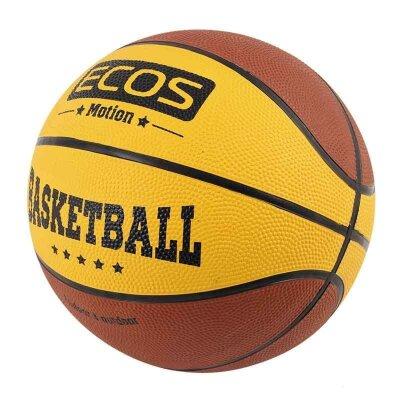 Мяч баскетбольный ECOS MOTION BB120 №7 2 цвета 8 панелей 500 г