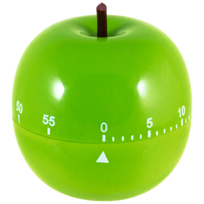 """Таймер кухонный механический Apple """"Яблоко"""" 60 мин"""