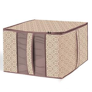 Кофр для хранения одеял и подушек В-28 Рыжий КОТ 60х50х35 см