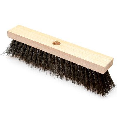 Щетка швабра деревянная 4-х рядная с капроновой щетиной для уборки пола П4 без черенка