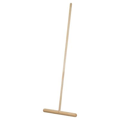 Швабра деревянная для мытья пола с черенком 120 см