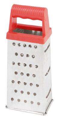 Терка четырехсторонняя кухонная ручная Regent 93-AC-GR-72 нержавеющая сталь 21 см