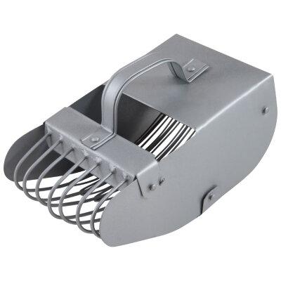 Плодосборник (комбайн) для клюквы К-1 ручной металлический, Серый