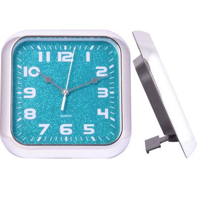 Часы квадратные настенные и настольные 19х19 см MAXTRONIC MAX-9618L2