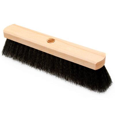 Щетка швабра деревянная 4-х рядная для уборки пола с резьбой О4 без черенка