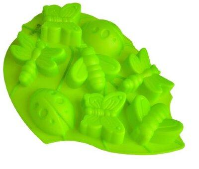Форма для выпечки кекса «Лист» силиконовая Regent 93-SI-FO-105 , 28x22x3 см