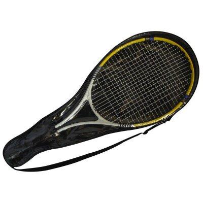 Ракетка для игры в большой теннис TR-02 ECOS 1 штука в чехле алюминий 67.5x26.5 см