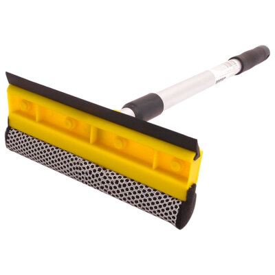 Стекломой для окон с телескопической алюминиевой ручкой WS-06 размер щетки  20 см, длина  45-78 см