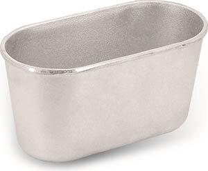 Форма для выпечки хлеба Л-7 овальная 21x11x10 см