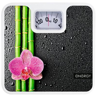 Весы бытовые напольные механические до 120 кг ENERGY ENМ-409D точность 1 кг