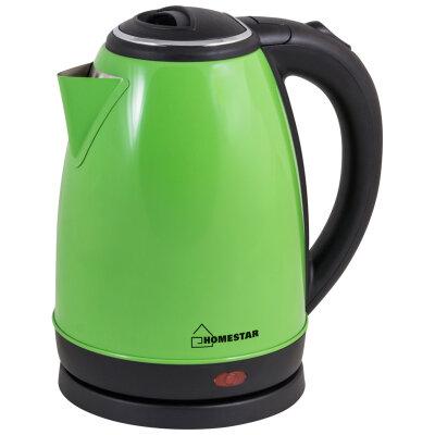 Homestar HS-1010 Чайник стальной 1.8 л 1500 Вт, зеленый