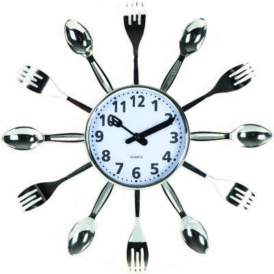 Настенные часы Вилки Ложки 35 см MAXTRONIC MAX-9830B3 кварцевый механизм