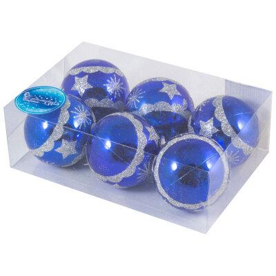Набор новогодних елочных шаров 6 см SYCB17-606  6 шт