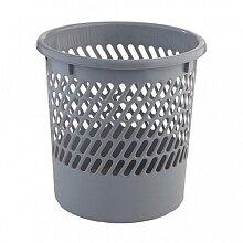 Корзина для мусора офисная пластиковая 10 л 90900 круглая