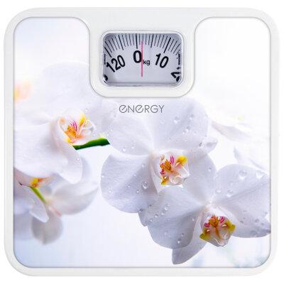 Весы бытовые напольные механические до 120 кг ENERGY ENМ-409Е точность до 1 кг