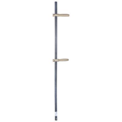 Косовище металлическое 140 см изогнутое с 2 ручками для косы