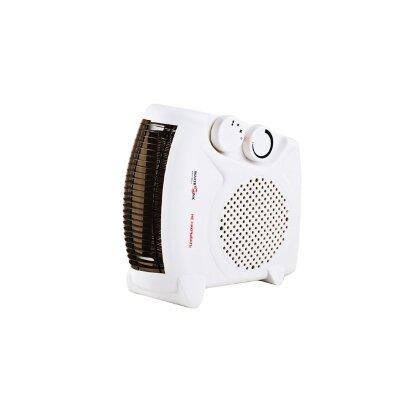 Тепловой вентилятор электрический бытовой 2 кВт MAXTRONIC MAX-FH-06A спиральный