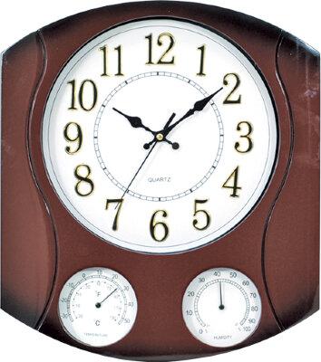 Часы кварцевые настенные 31х34 см MAXTRONIC MAX-8704Z2  корпус из пластика
