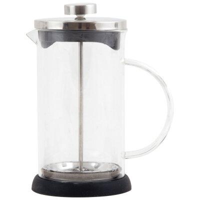 Чайник кофейник пресс 600 мл GFP01-600ML Mallony Черный из стекла