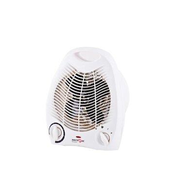 Тепловой вентилятор электрический для дома 2 кВт MAXTRONIC MAX-FH-388 спиральный тэн