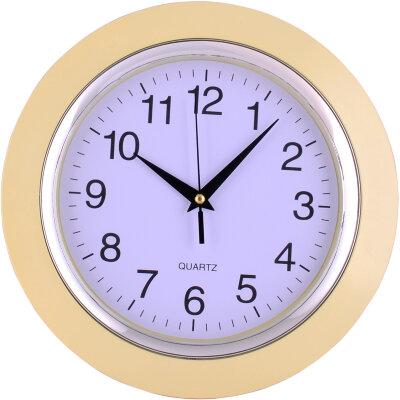 Часы круглые настенные 25 см MAXTRONIC MAX-9827А1 корпус - пластик, классический дизайн