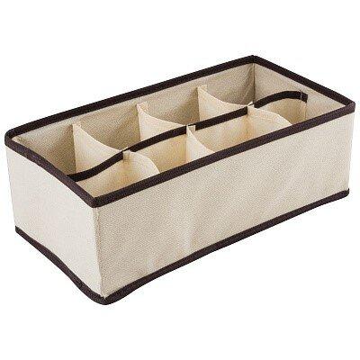 Коробка для хранения NWB-5/8 Рыжий КОТ 8 ячеек 28х14.5х10 см