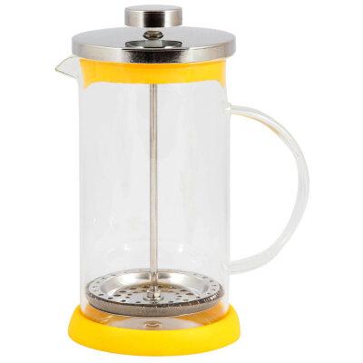 Кофейник пресс заварочный 600 мл Mallony GFP01-600ML-Y корпус - Желтый