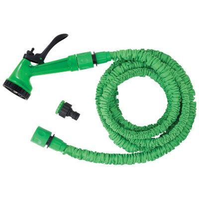 Набор для полива LS1051-225 PARK шланг змейка до 22,5 м с пистолетом для полива