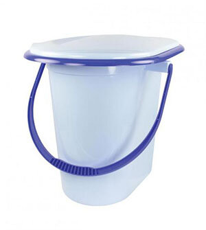Ведро туалет 17 л М1320 пластмассовое