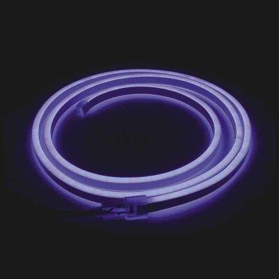 """Гирлянда уличная синяя светодиодная морозостойкая до -10° """"НеоН"""" гнущийся провод 6 метров  720 LED ламп"""