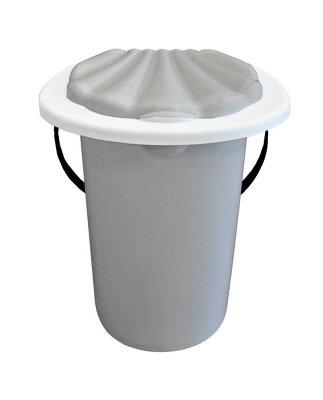 Ведро туалет с крышкой 20 л ING4001
